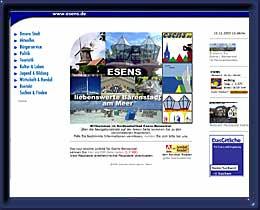Nordseeheilbad Esens-Bensersiel Stadtinformation