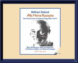 Wolfram Siebeck Präsentation des Kochbuchs